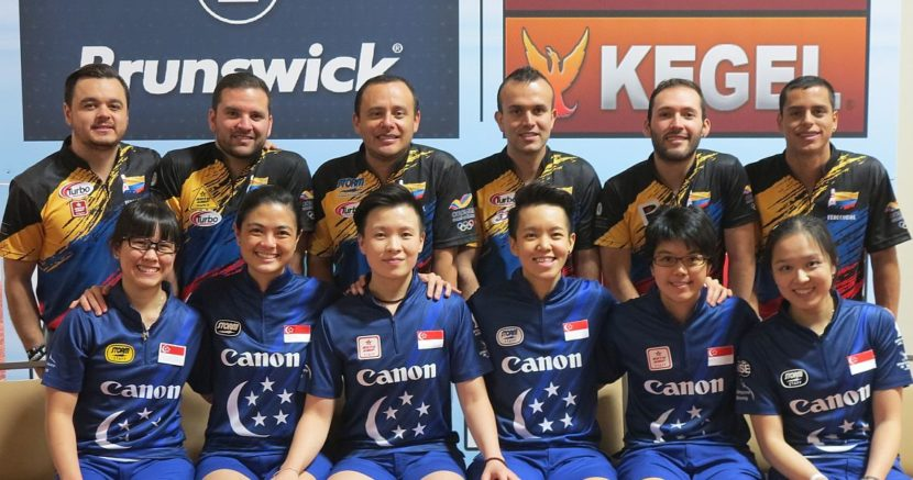 Colombia, Singapore earn the No. 1 seeds for Sunday's Team of Five finals