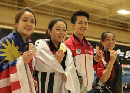 Jung Dawun sweeps Sin Li Jane to defend Women's Masters title