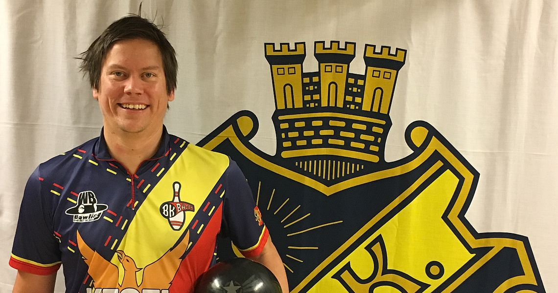 Joakim Biehl moves into fourth place at AIK International Tournament