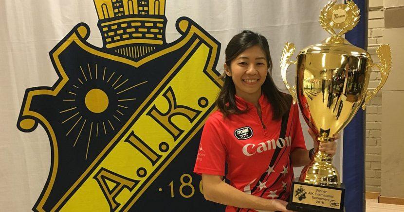 2018 EBT Women's Point Ranking after AIK International Tournament