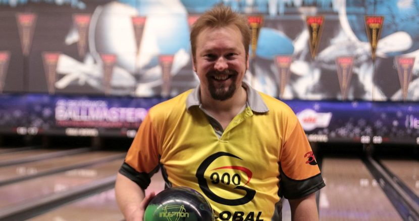 Three-time winner Pasi Uotila leads opening squad at Brunswick Ballmaster Open