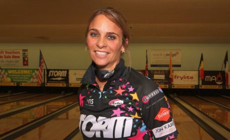 Ghislaine van der Tol averages over 250 to win the Qualifying in Dublin, Ireland