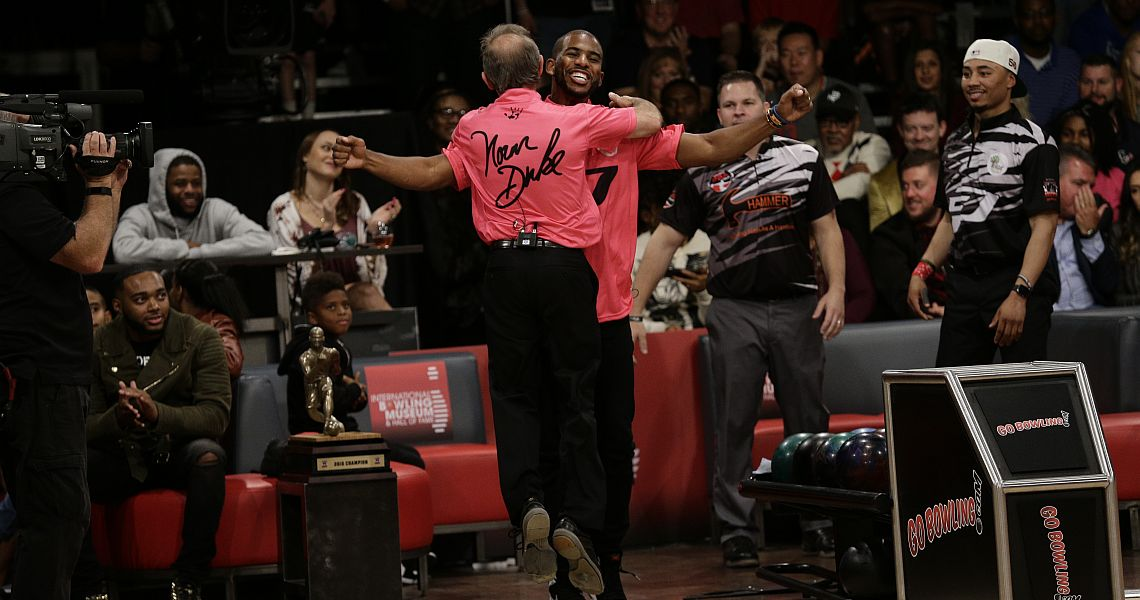 Chris Paul, Norm Duke win CP3 PBA Celebrity Invitational doubles title