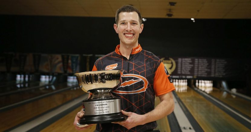 Matt O'Grady named February IBMA Bowler of the Month