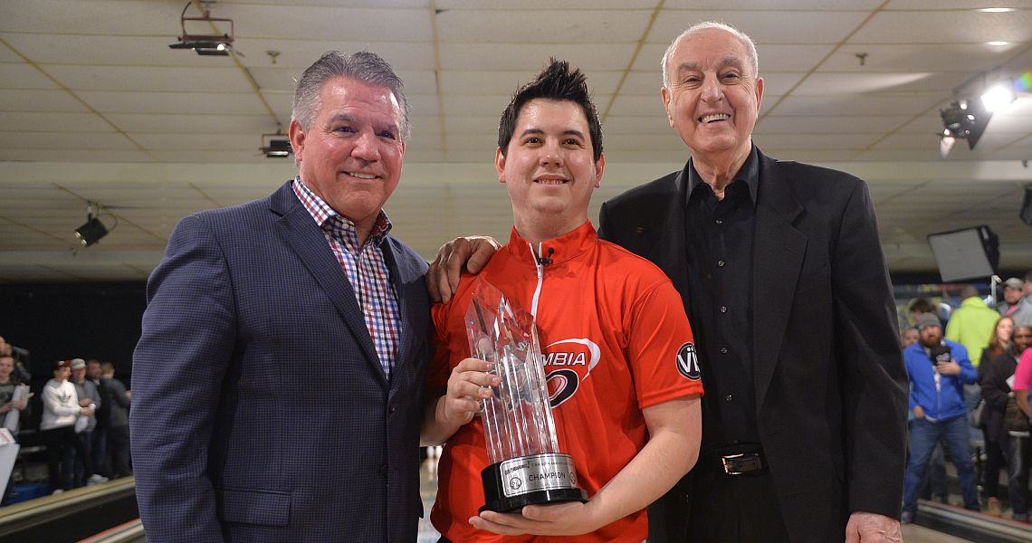Jakob Butturff wins his third PBA title in Go Bowling! PBA 60th Anniversary Classic