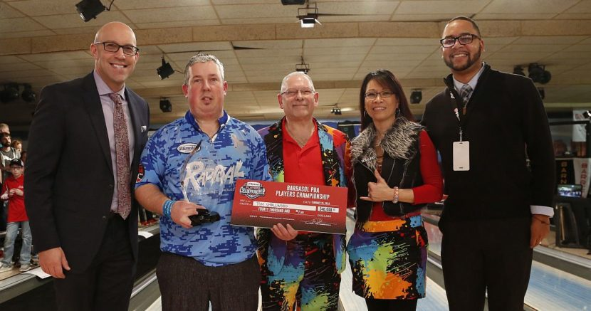 Tom Smallwood captures Barbasol PBA Players Championship title