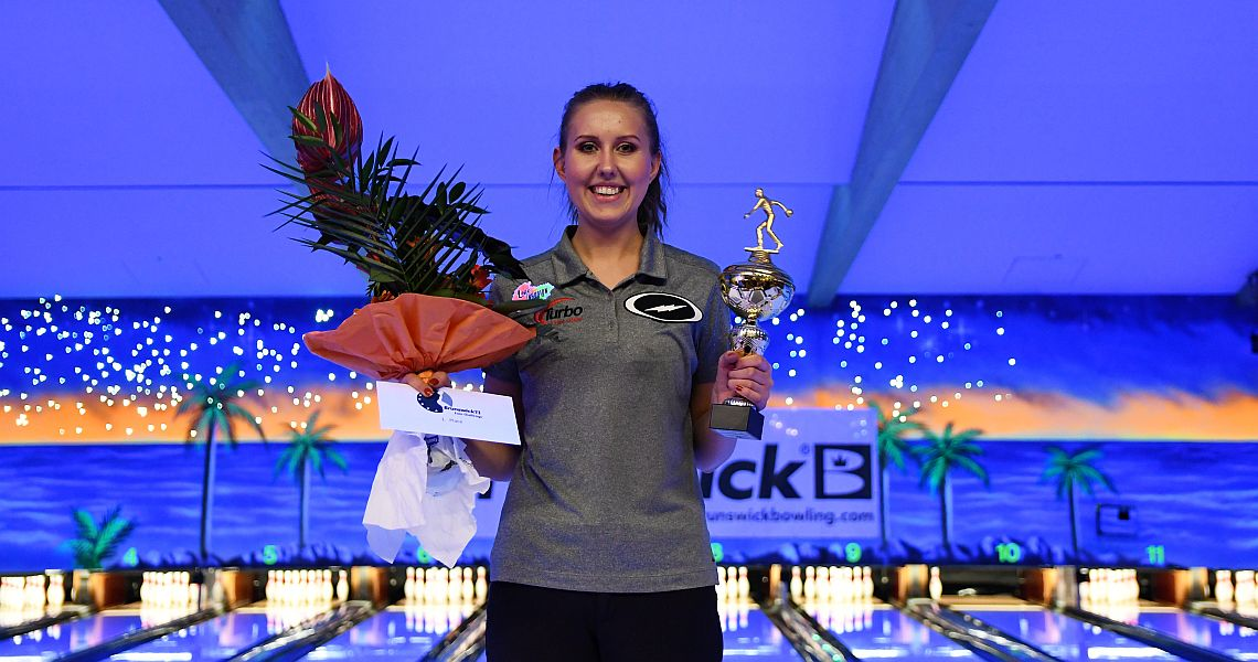 Jenny Wegner reigns as March IBMA Bowler of the Month