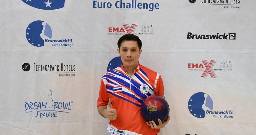 Annop Arromsaranon continues to lead 15th Brunswick Euro Challenge