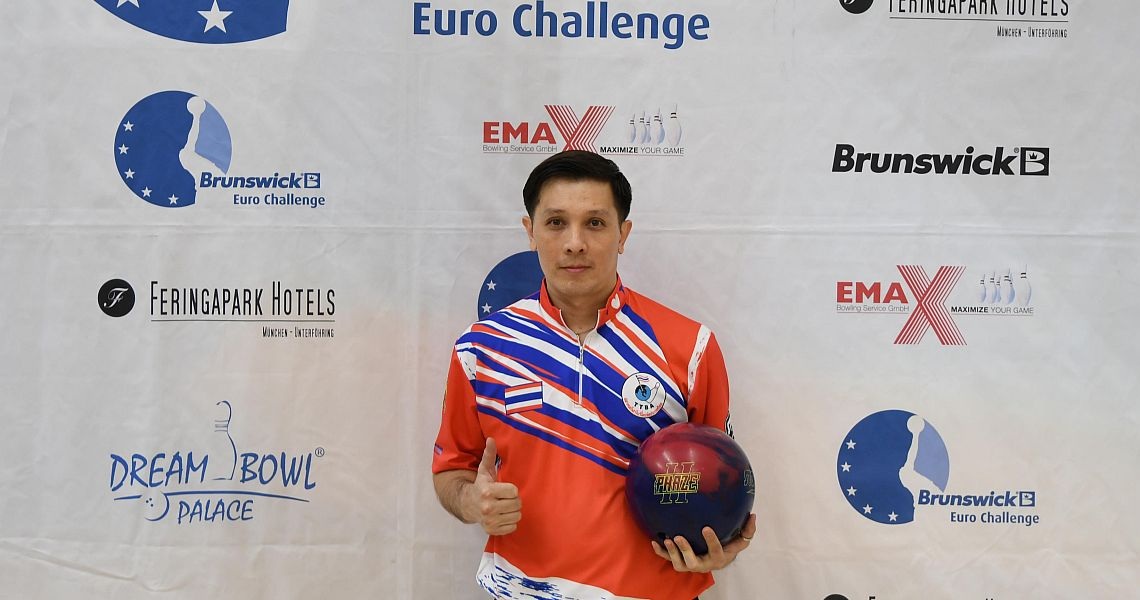 Annop Arromsaranon continues to lead 15th Brunswick Euro Challenge
