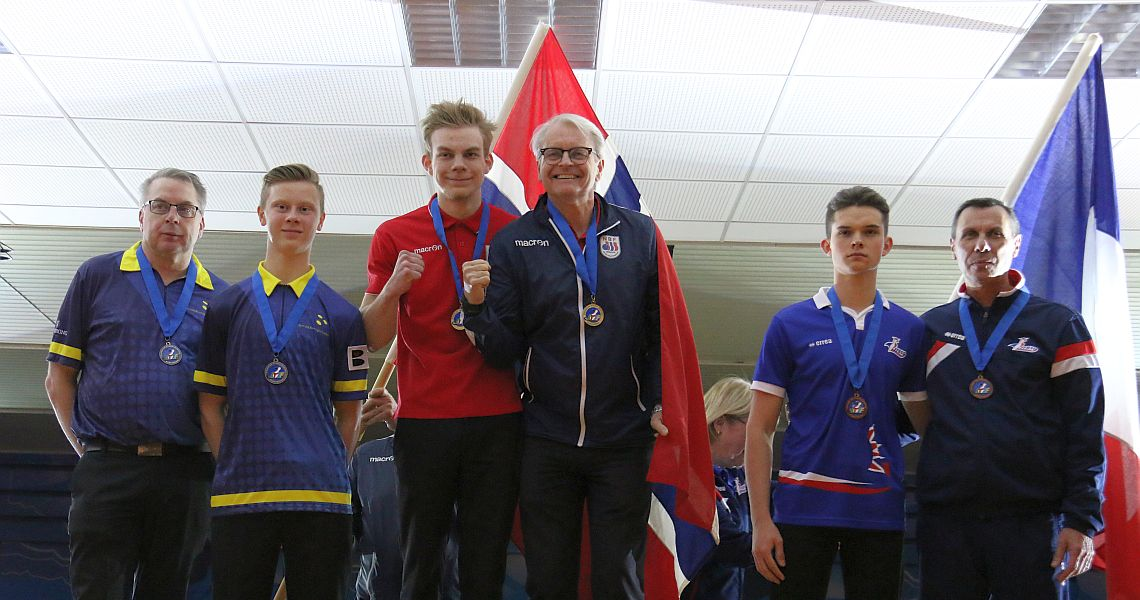 Norway's Skryten wins gold in All-Events; Sweden's Svensson leads boys' singles