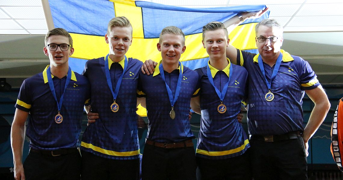 Swedish boys defend Team title at 2018 European Youth Championships