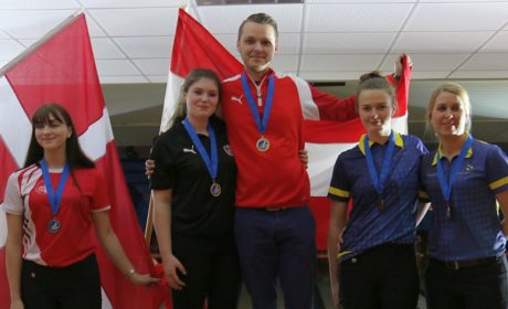 Austria's Jaqueline Witura shoots 1402 in Singles Prelims; captures gold in All-Events