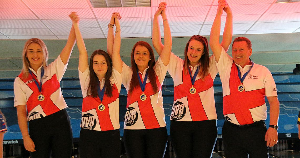 England repeats as Girls' Team champion at European Youth Championships