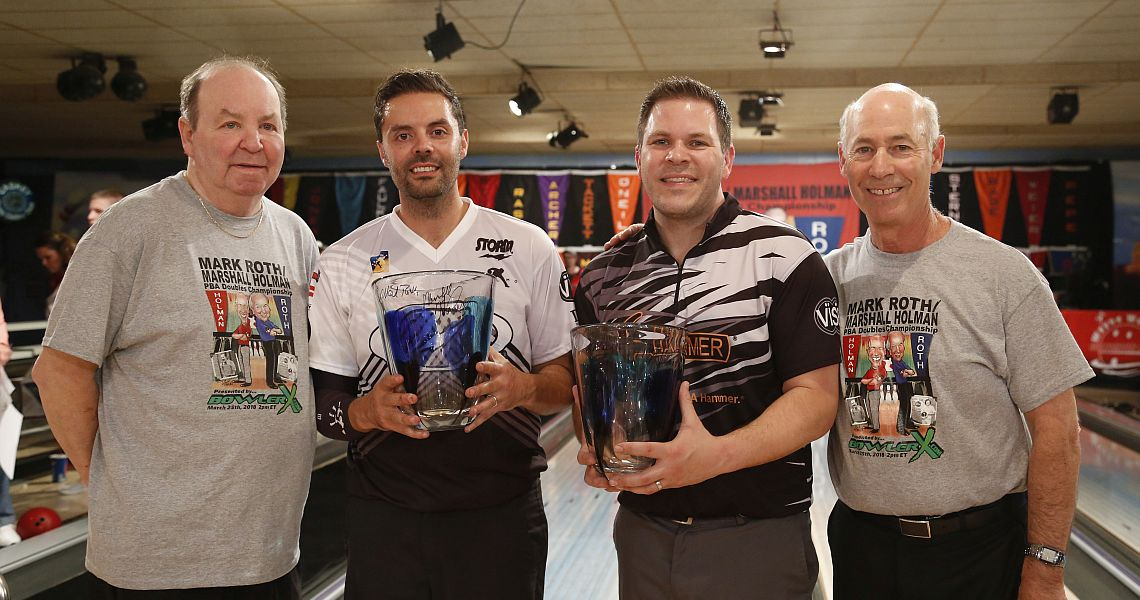 Fourth time's the charm for Belmonte & O'Neill in Roth/Holman PBA Doubles