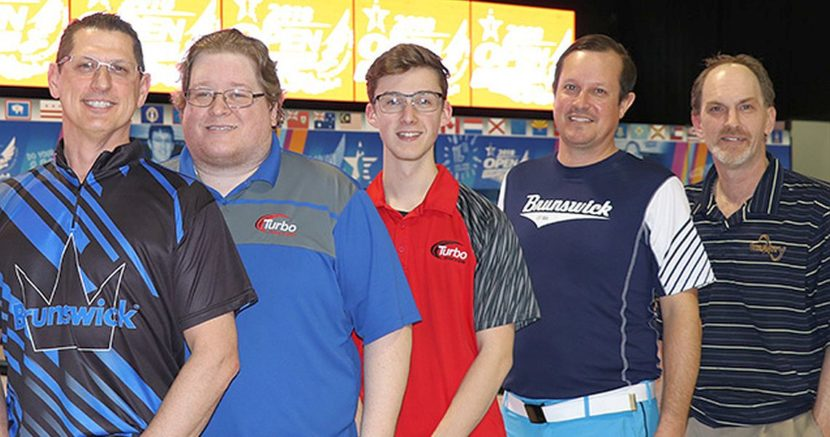 Michigan team sets pace at 2018 USBC Open Championships