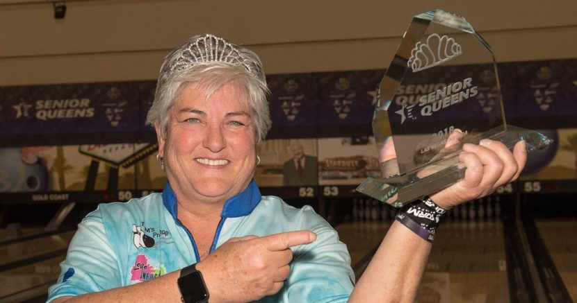 Hall of Famer Tish Johnson wins 2018 USBC Senior Queens