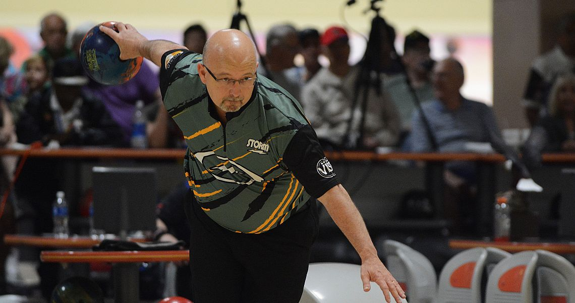 Lennie Boresch Jr. leads PBA50 Storm Invitational after first round