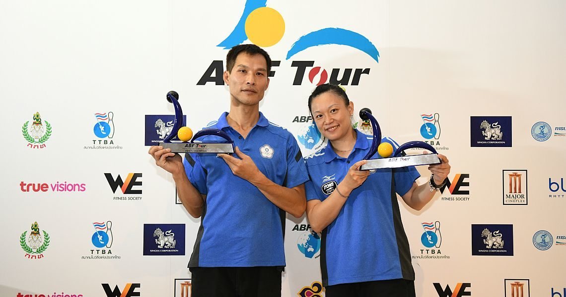 Chinese Taipei's Lin, Wang sweep titles in ABF Tour Thailand leg