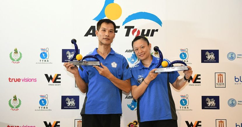 Chinese Taipei's Lin, Wang sweep titles in ABF Tour Thailand leg