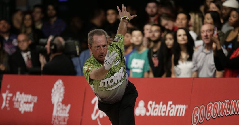 Pete Weber moves into PBA50 National Championship lead
