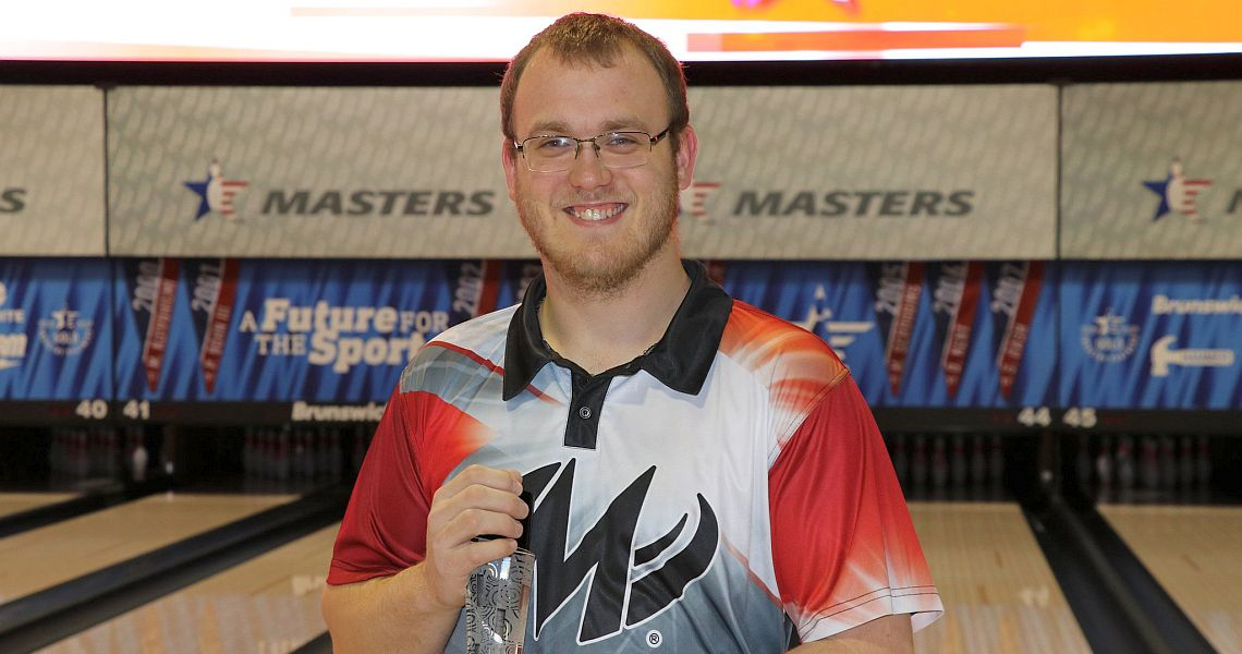 Jacob Kent averages 228 to take USBC Masters first round lead