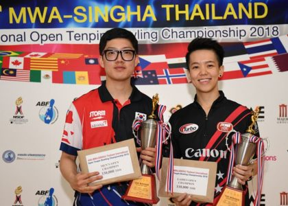 Park Geon Ha, Shayna Ng capture Masters titles in 2018 Thai Open