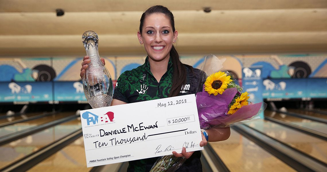 Danielle McEwan wins 2018 PWBA Fountain Valley Open