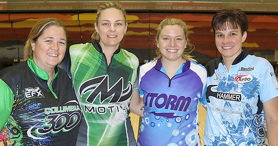 New leaders emerge in every Diamond Division event at USBC Women's