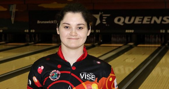 Daria Kovalova continues to lead at 2018 USBC Queens