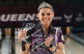 Shannon O'Keefe reigns as May IBMA Bowler of the Month