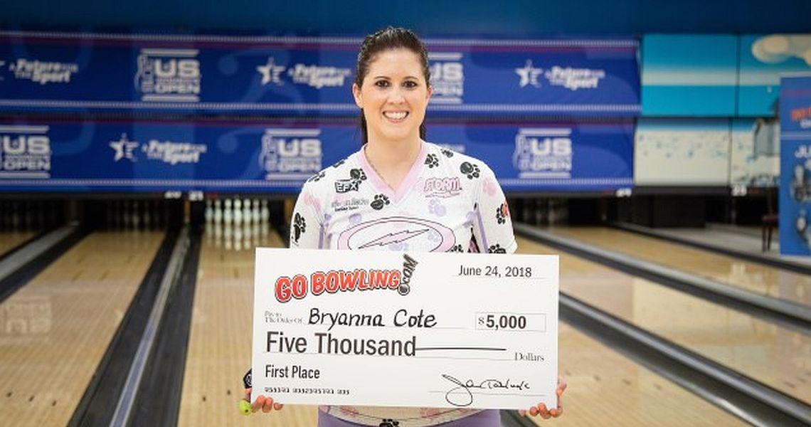 Bryanna Coté captures Go Bowling PWBA Challenge title