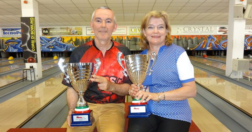 Liliane Vintens, Serge Frouvelle take the titles in Italy Senior Open