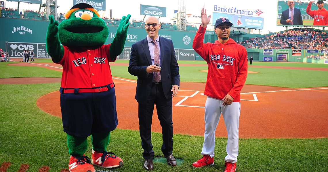PBA to present Boston Red Sox Star Mookie Betts with 300 game ring