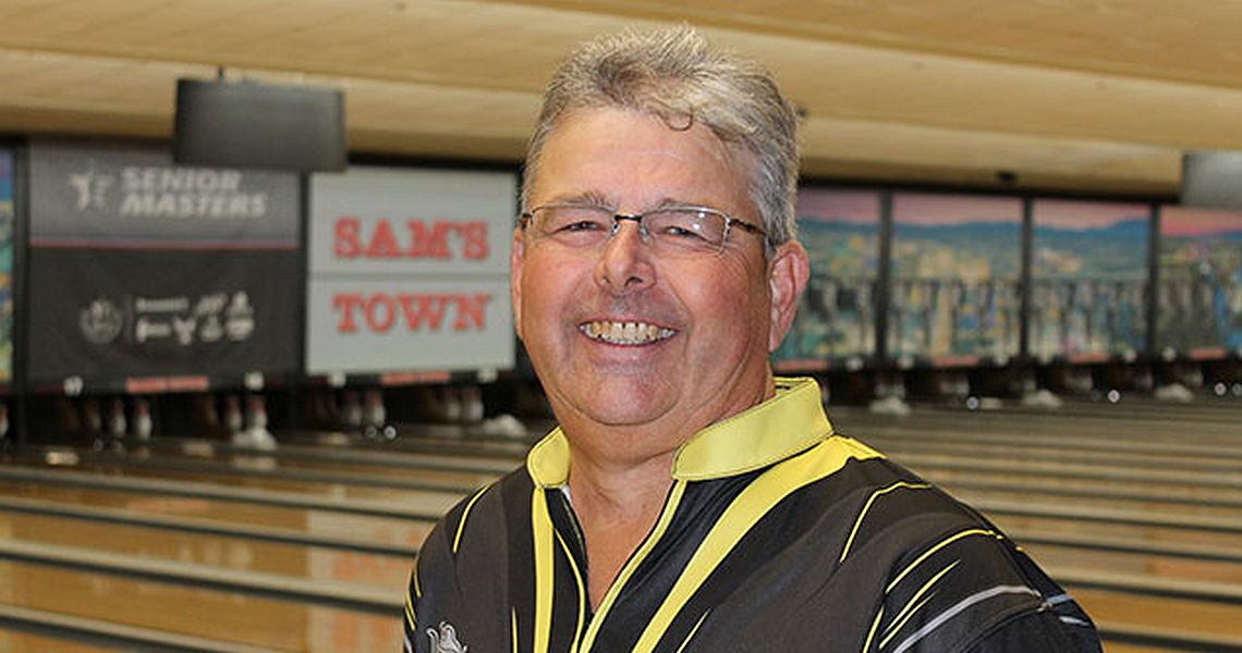 James Campbell leads after first day at 2018 USBC Senior Masters