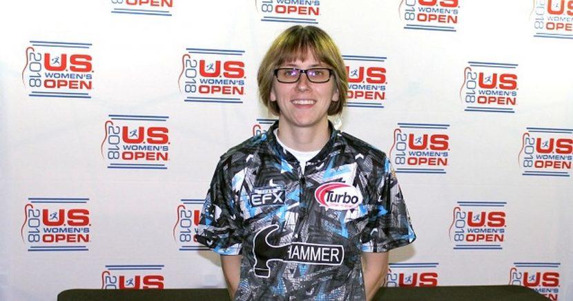 Erin McCarthy climbs into U.S. Women's Open lead