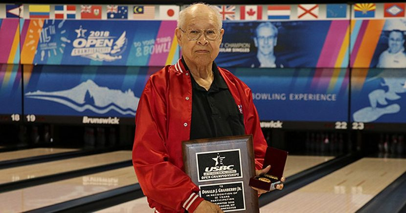 Two bowlers reach milestones at 2018 USBC Open Championships
