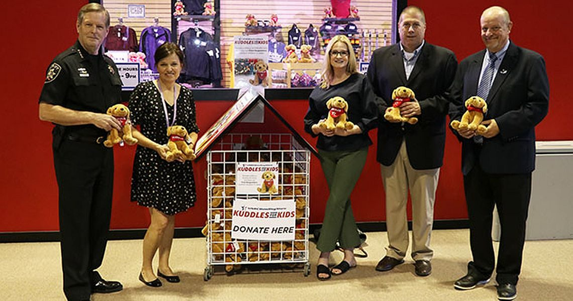Kuddles for Kids program helps to give back to host cities