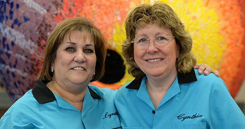 California pair celebrates doubles lead at 2018 USBC Women's Championships