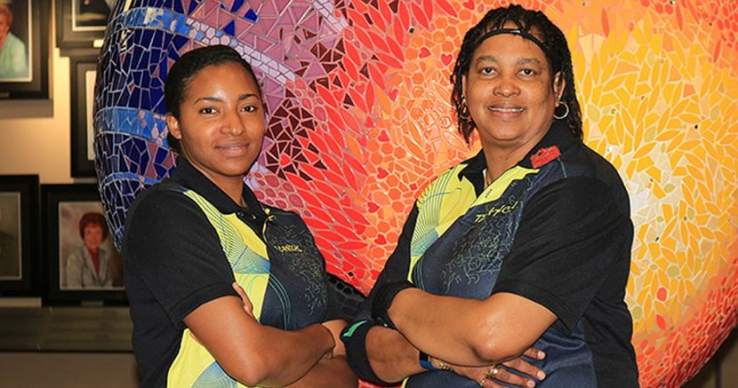 Mother-daughter tandem leads Sapphire Doubles at USBC Women's