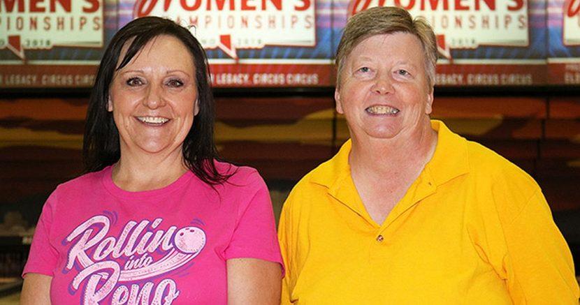 Utah pair takes Amethyst lead at National Bowling Stadium