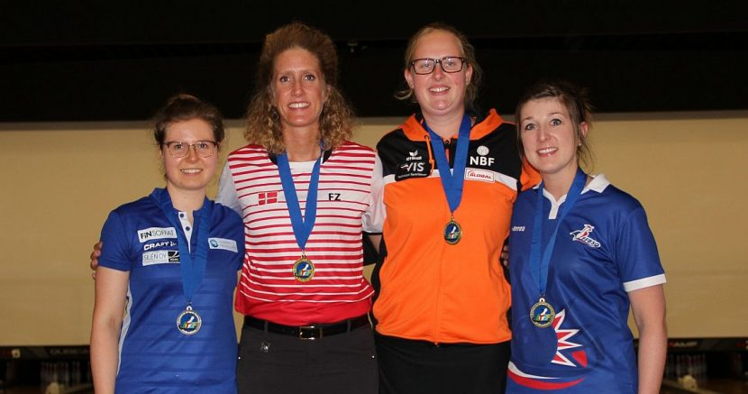 Mai Ginge Jensen wins gold medals in All-Events and Masters in Brussels