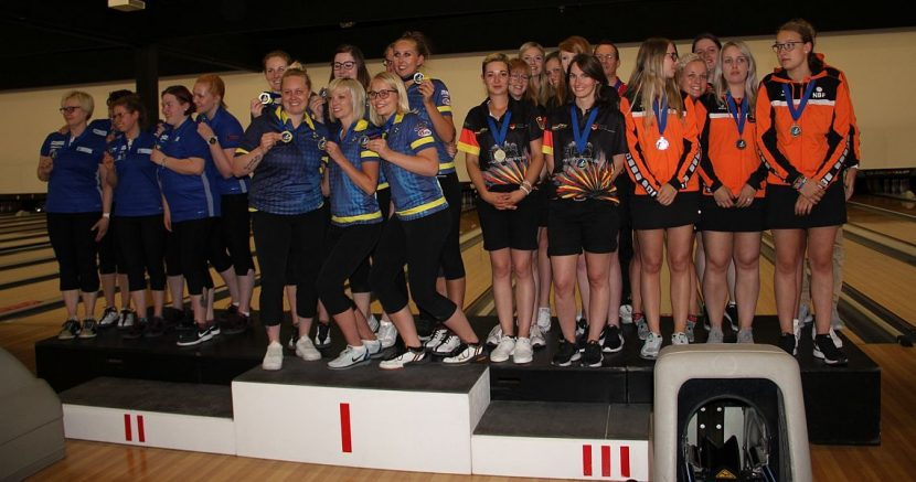Sweden also triumphs in the Team event at Women's European Championships