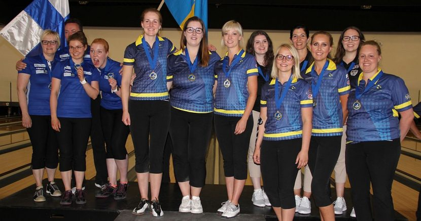 Sweden wins third gold at Women's European Championships in Trios
