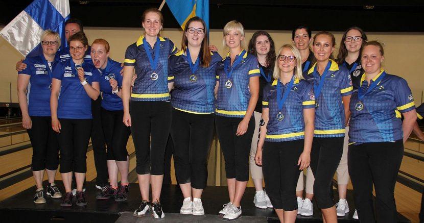 Sweden wins third gold at Women's European Championships in Trios