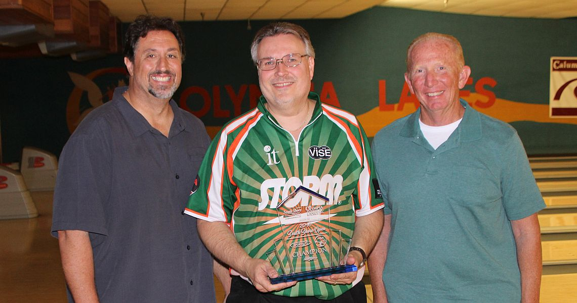 "Hometown favorite Eugene McCune wins PBA50 South Shore Open as ""Amateur"""