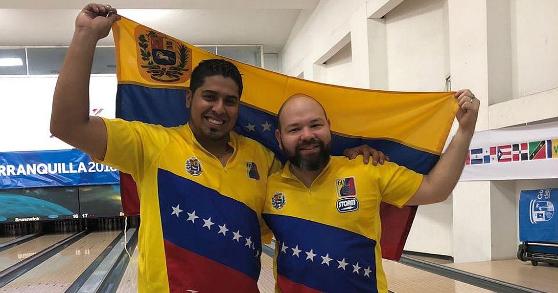 Ruiz, Rovaina win gold for Venezuela in Men's Doubles at Barranquilla 2018