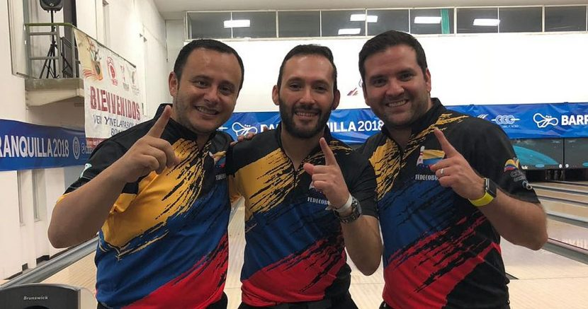 Colombia wins fourth gold medal at Barranquilla 2018 in Men's Trios