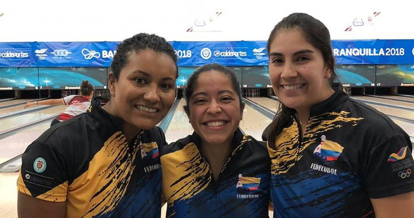 Gold for Colombia, silver and bronze for Mexico in Women Trios at CACG