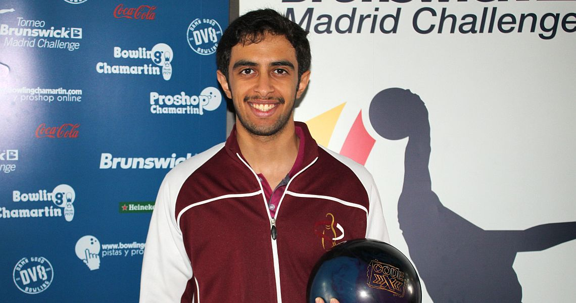 Qatar's Jassim Al Muraikhi wins qualifying at Brunswick Madrid Challenge