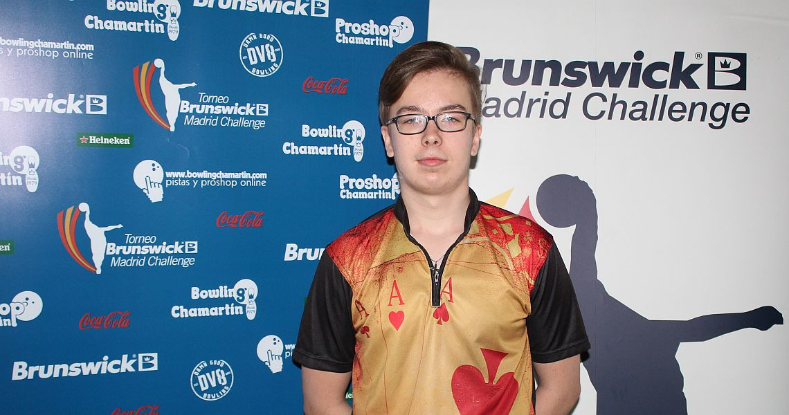 Jesse Ahokas rises to the top in qualifying at Brunswick Madrid Challenge